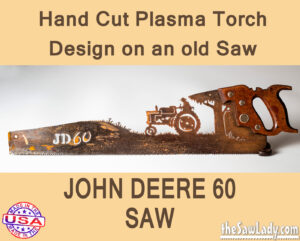 John Deere 60 Metal Art Saw
