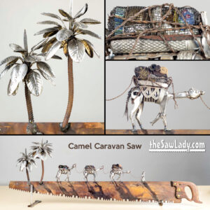Camel-Caravan 2 Metal art saw