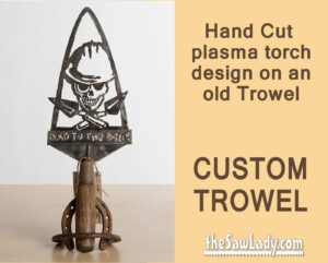 Metal Art custom trowel