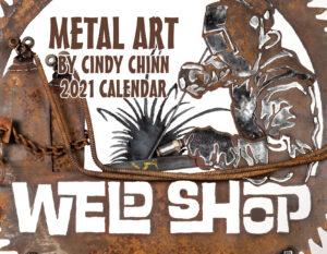 2021 Metal Art Calendar - Cindy Chinn