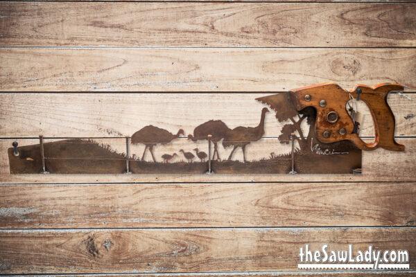 rustic decor emu ranching gift