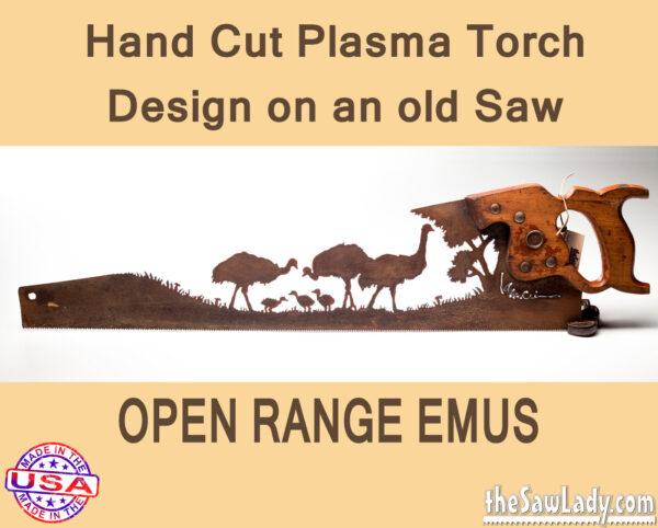 open-range-emu metal art saw