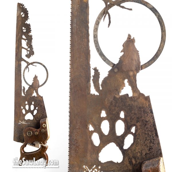 Wolf-Moon-Saw-metal art gift